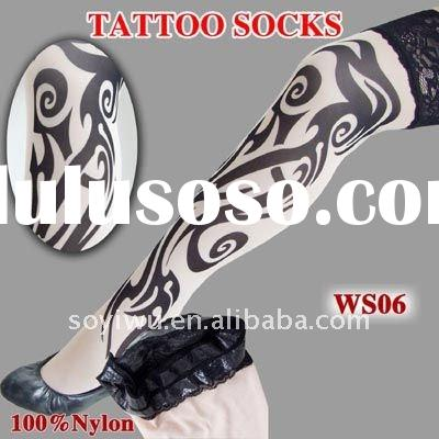 TATTOO SLEEVE SOCKS for women Art 1320207