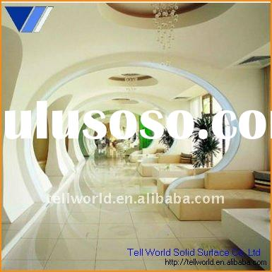 TW modern design artificial stone solid surface decorative wall panel