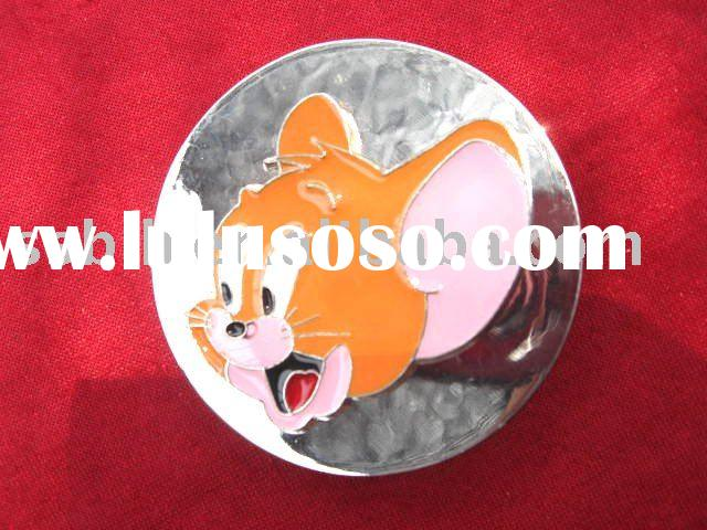 Tom and Jerry cartoon belt buckle
