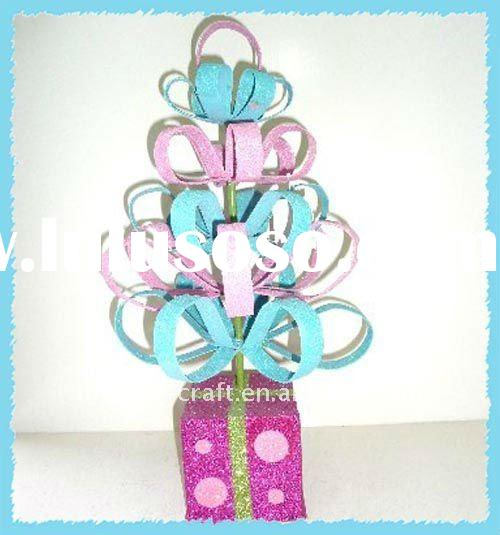 Tree with gift box Glitter christmas gifts for 2012