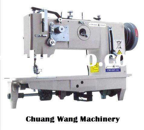 Twin Needle Lockstitch Flat Bed Industrial Sewing Machine
