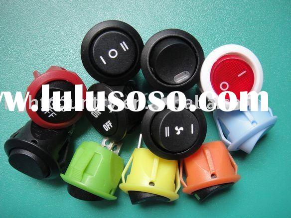 UL VED light switch/ round rocker switch t85 RC series