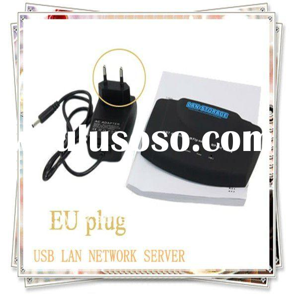 USB LAN NETWORK SERVER PRINTER NAS STORAGE SHARE for sharing printers, external hard disk drives, US