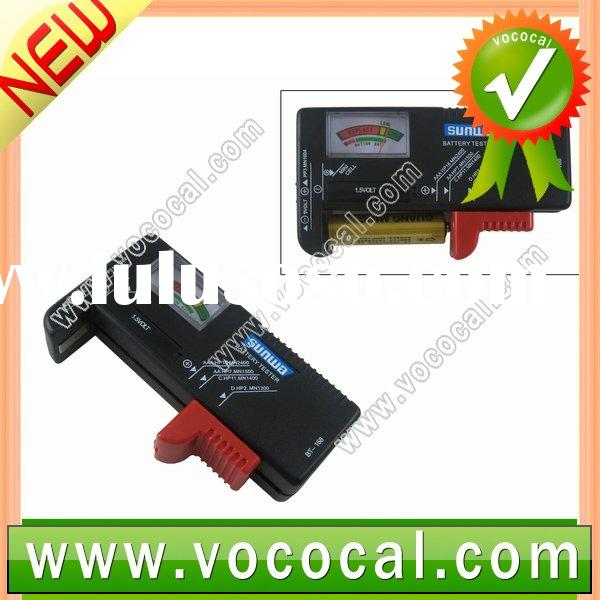 Universal AA AAA C D 9V Button Cell Battery Tester