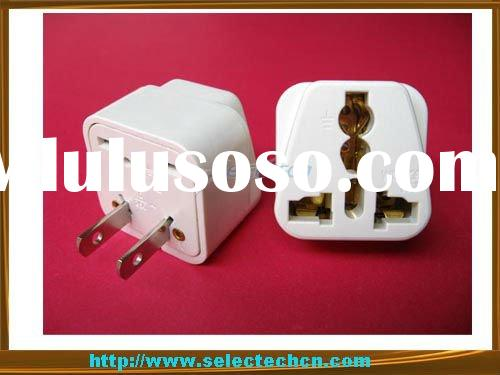 Universal Adapter,AC/DC power PLUG adapter 2 Flat Pin Plug Adaptor SE-UA6