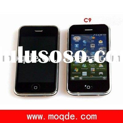 Unlocked C9 GPS WI-FI Java built-in 8GB Skype MSN WM6.5 Smart Mobile Phone