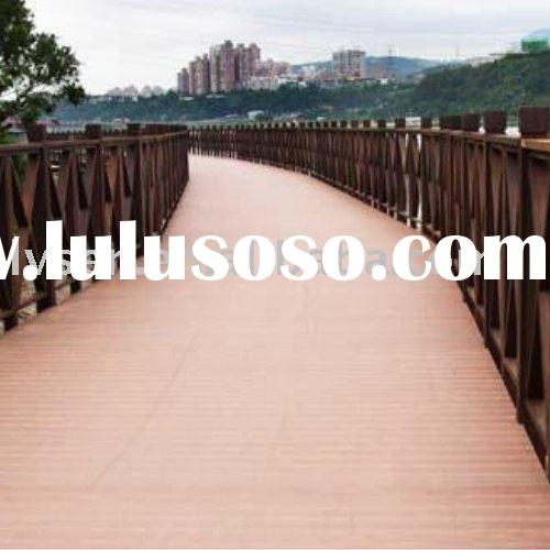 WPC Outdoor Bridge Flooring,Wood Plastic Composite Decking
