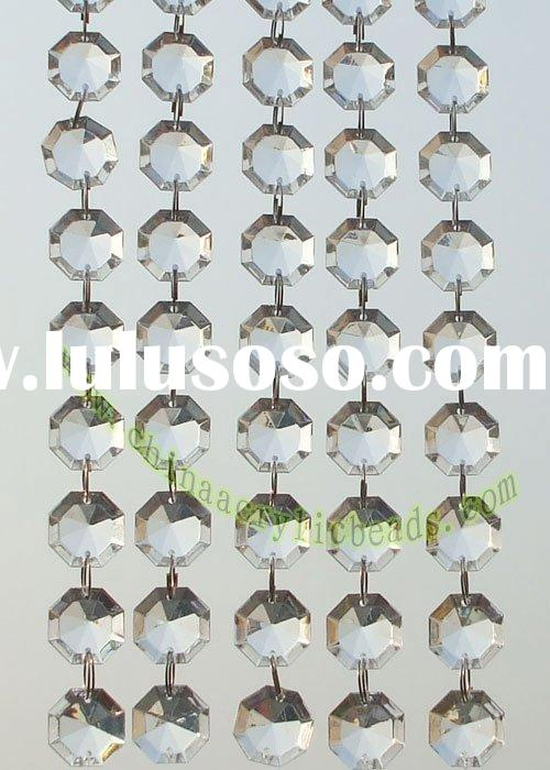 Wedding decoration curtains, crystal beaded chains, Acrylic chandelier chains