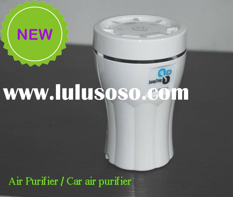 Wholesale - New Style/Portable Ions Air Purifier/Cleaner Ionizer Fan with Aroma Diffuser/Free Shippi