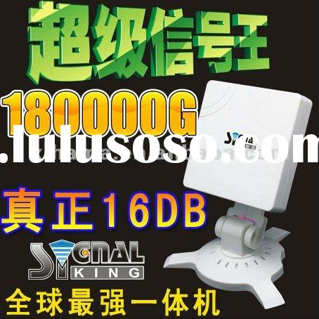 Wholesale Price SignalKing 180000G HIGH POWER USB WIFI 16dbi ADAPTER WEP/WPA DHL Free Shipping