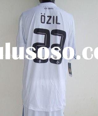 Wholesale Real Madrid Home Soccer Jersey Set 2011 In Thai Quality