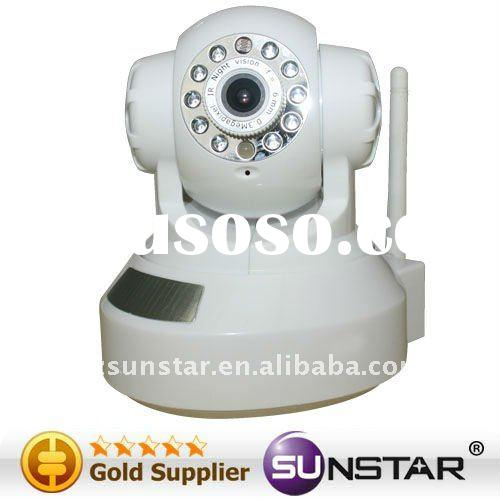 Wholesale infrared cameras H.264 Network IP Camera with Nine Preset PositionsMonitoringSupports Gmai