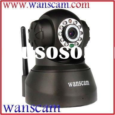 Wi-Fi Pan/Tilt Night Vision Dual Audio Indoor Dome Wireless IP Camera