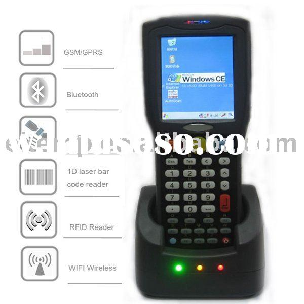 Windows CE Mobile computer with barcode scanner,GPRS,cradle (EM880)