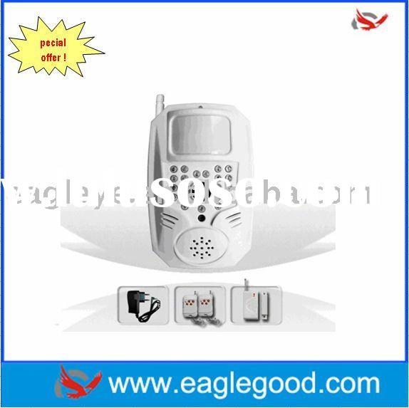 Wireless GSM MMS Alarm System Built-in 300,000 pixels night vision digital camera(EAG-007M6E)