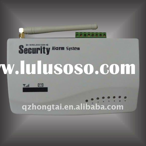 Wireless GSM Security Alarm with 6-Wireless Zone and 4-Wired Zone