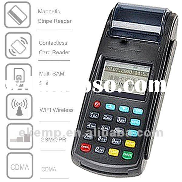 Wireless Handheld POS terminal with Printer for bus ticket payment(N8110)