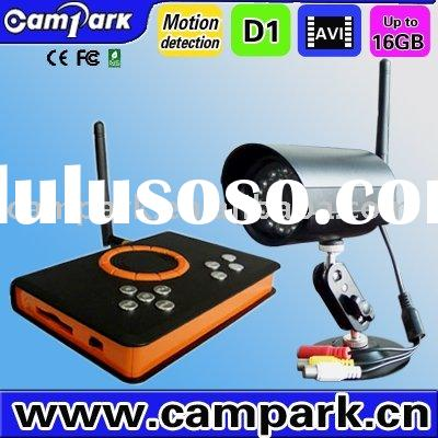 Wireless Night Vision Security CCTV Camera System