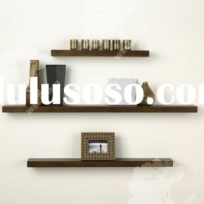 Wood floating shelf, floating shelves, wall mounted shelf
