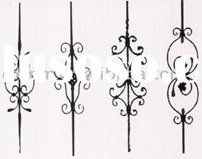 Wrought Iron Decorative Components