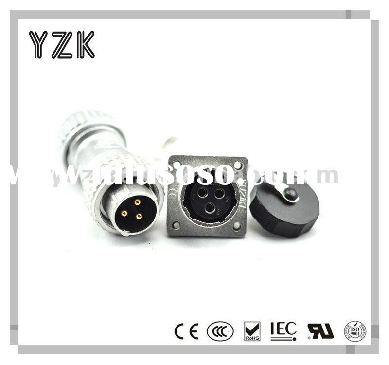YW series 3pin gold plated wire to wire connector