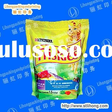 Ziploc Plastic Bags For Cat Food Packaging