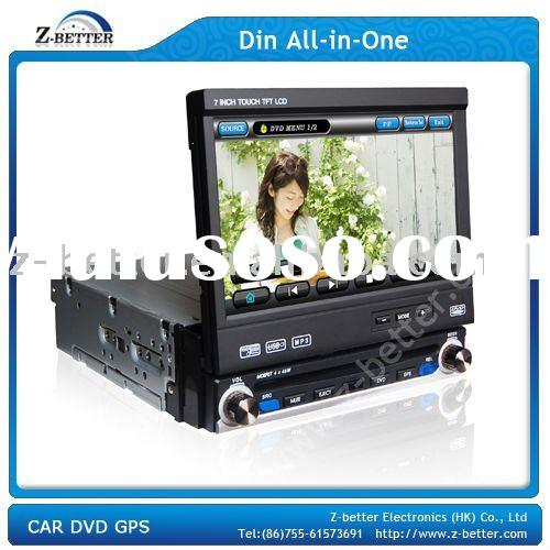(Best price) 1 Din 7 inch universal DVD Player for Car with V-6 Memory