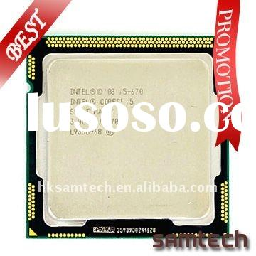 #HOT#cpu Intel core i5 670 (3.46GHz 4MB 2.5GT/s LGA1156) with dual core cpu