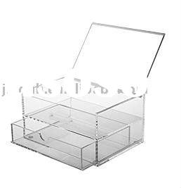 acrylic folding display stand ,new make-up stand