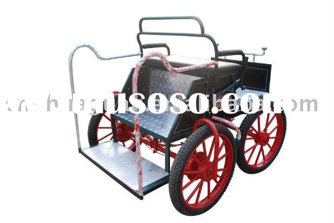 amusive pony cart for miniature and shetland
