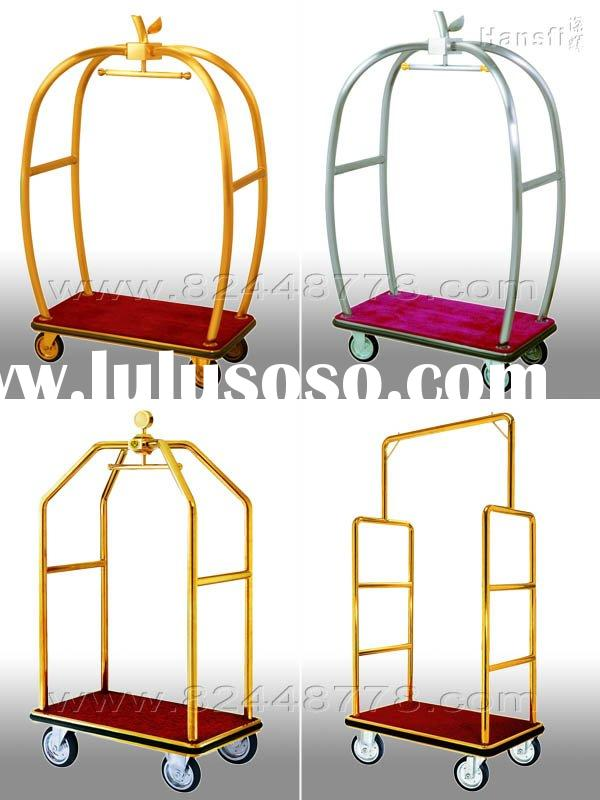 baggage trolley,hotel luggage trolley ,hotel supplies,hotel product ,hotel accessories