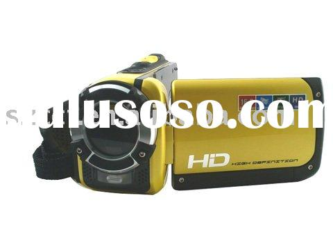 best selling 3 inch LCD screen 1080P waterproof camcorder HDDV-F901c
