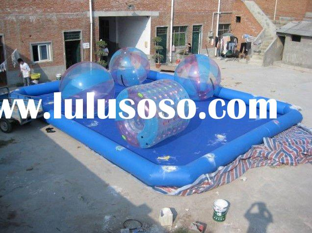 big ball pool inflatable water pool (6*8*0.6)M