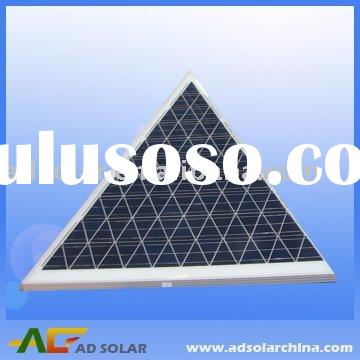 build triangle solar panel 100W with diffrent shape