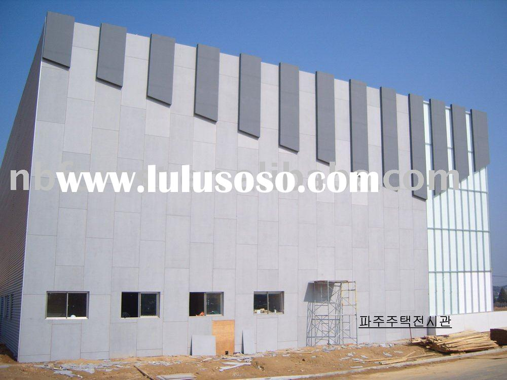 building construction materials exterior interior Wall panel fire proof resistance ceiling Non Asbes