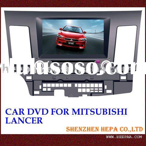 cheap car radio for mitsubishi lancer with arabian,russian osd menu