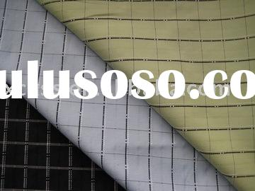 checked yarn dyed shirt fabric