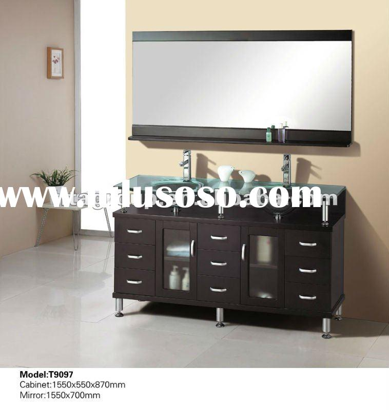 corner bathroom steel vanity unit sink cabinets