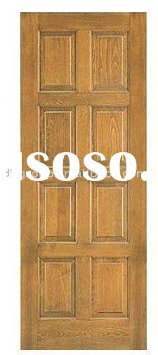decor panel wood door (classical design)