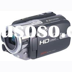 digital video camera with full HD 1080P and 5x optical zoom