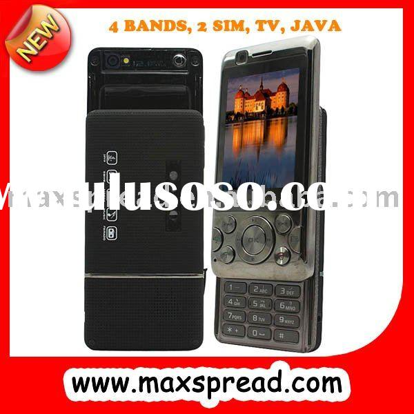 dual sim card phone slider design dual camera