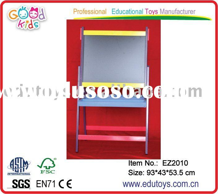 easel stand color magnetic board for kids