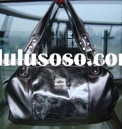 factory excess handbag/lady's handbag/fashion bag/woman's bag/faux leather handbag/d