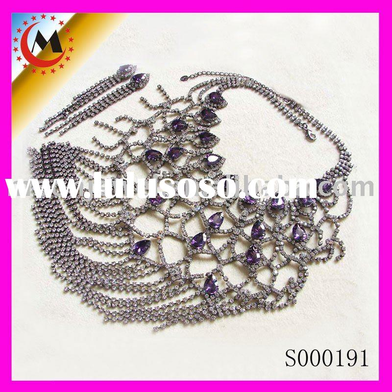 fashion jewelry sets(necklace and earring jewelry sets,gemstone jewelry sets)