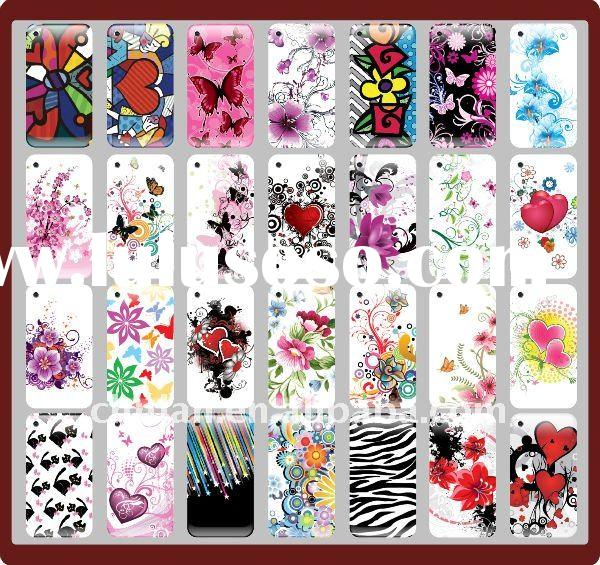 for blackberry 8520 designs hard with silicon case