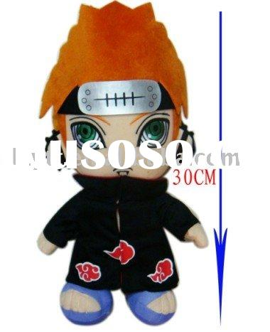 "free shipping wholesale toys plush doll , anime cosplay gift mix style12"" (30cm) EM004-4"