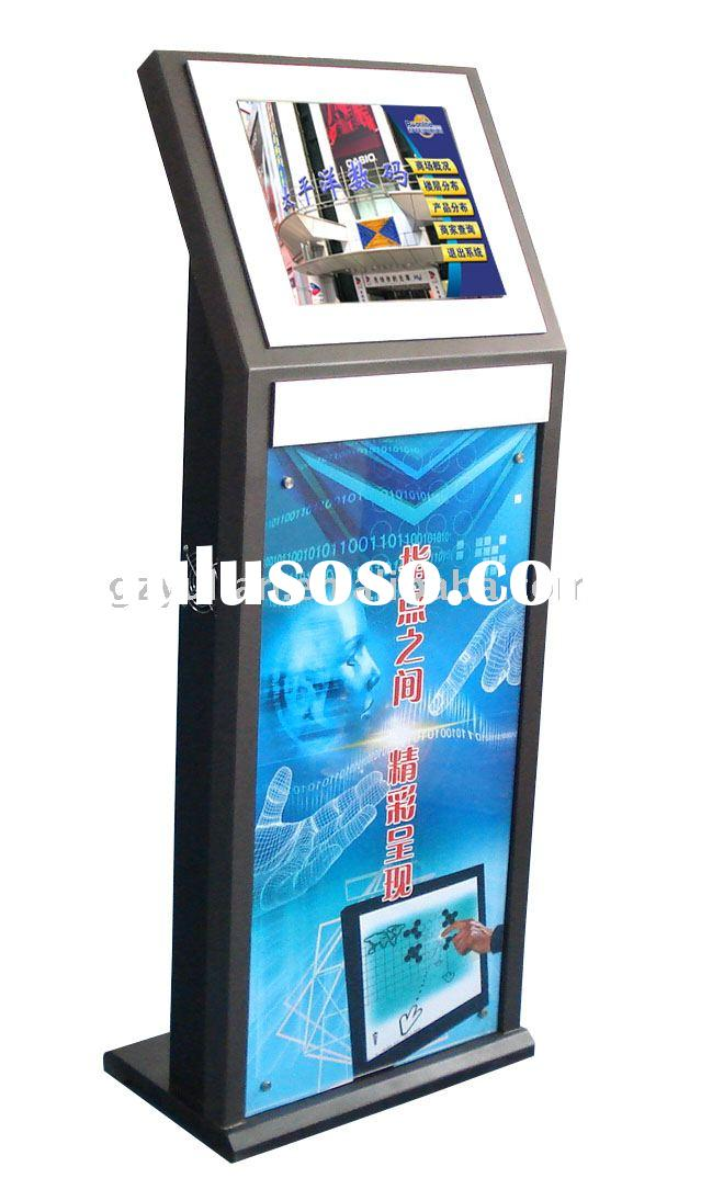 free standing self-service terminal /Touch screen ticket selling kiosk/ Interactive touch screen tic