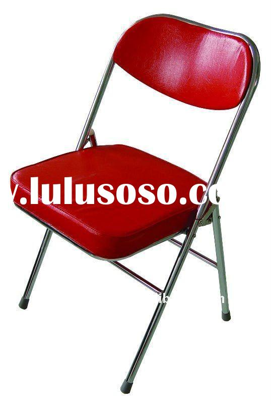 furniture used metal folding chairs