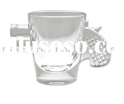 gun shot glass/drinking glasses