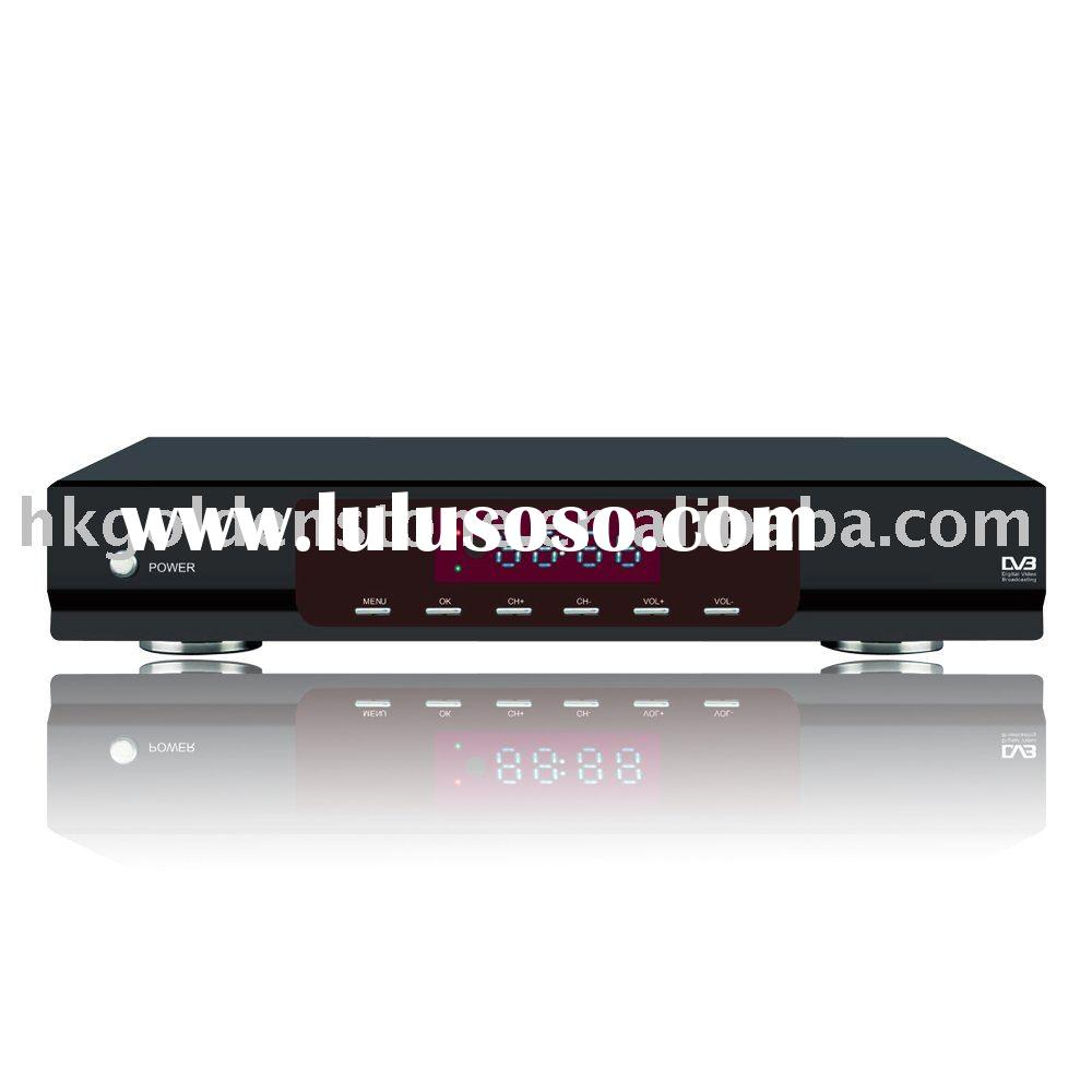 h.264 hd isdb-t ip set-top box receiver